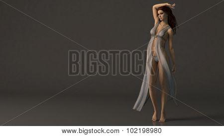 erotic fantasy girl model
