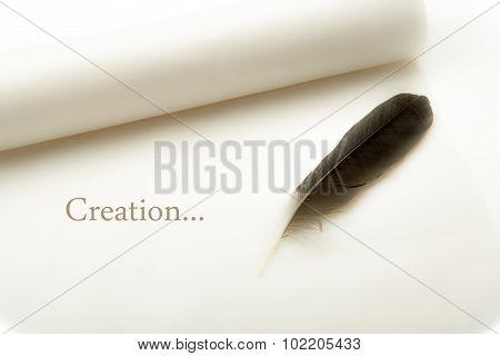 Still, Paper And Pen