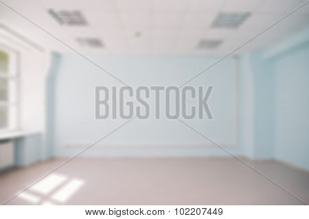 Office interior theme blur background