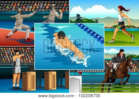 Modern Pentathlon Sport
