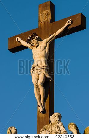Statue Of Jesus Christ. Avignon, France
