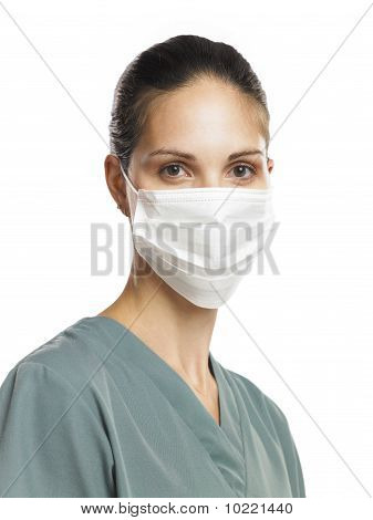 Nurse With Mask