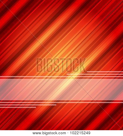 Techno abstract red background, striped texture