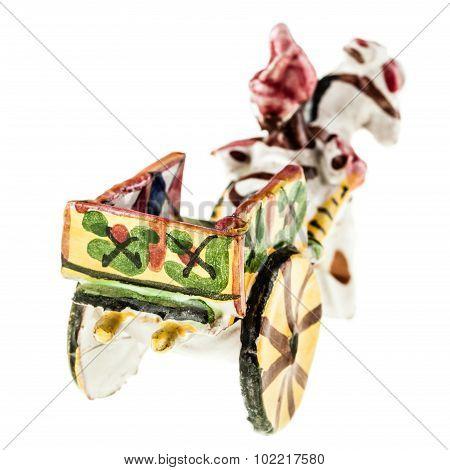 Sicilian Cart Back