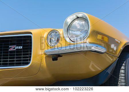 Chevrolet Camaro Z28 On Display