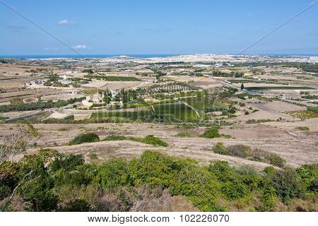 Maltese Landscape Scenery