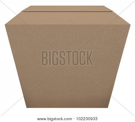 Ready to Ship cardboard box to illustrate a product or goods that are in stock and prepared to be sent or delivered to a buyer or customer