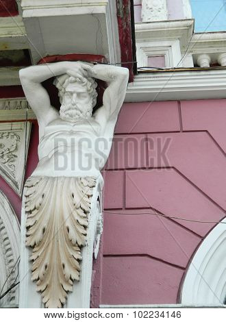 Man Statue.