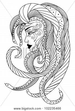 Medusa head.