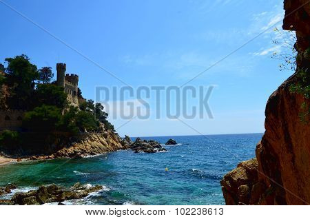 Castle Sant Joan In Lloret De Mar Costa Brava