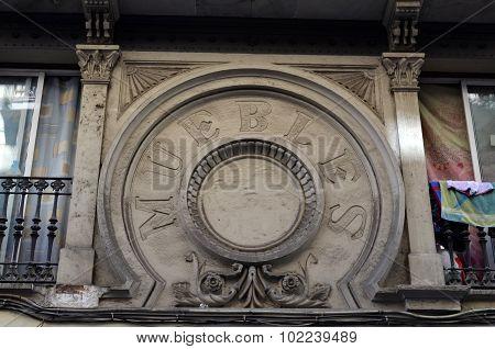 Old Spanish Insignia Muebles