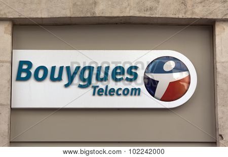 Bouygues Telecom Is A French Telecom Company