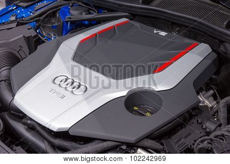 Audi S4 Tfsi V6 Engine