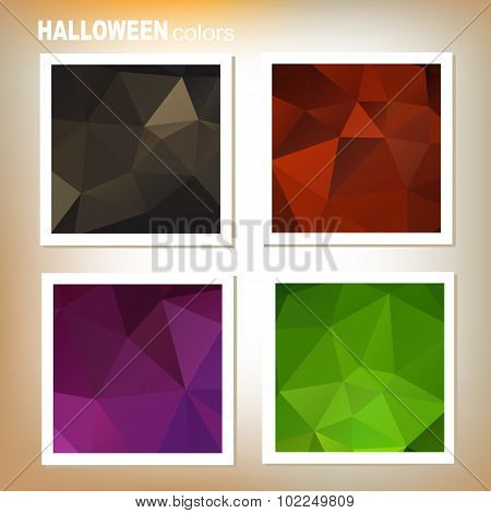 halloween colors