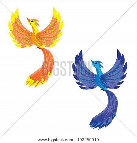 Bird of fire and bird of a thunder