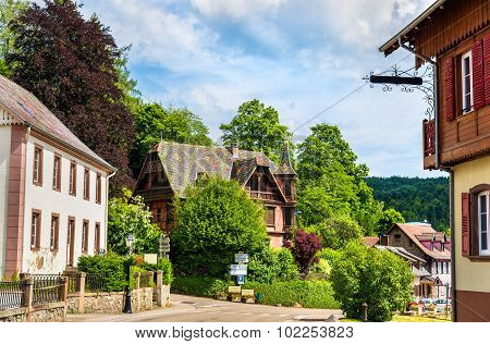 Le Hohwald, A Village In The Vosges Mountains - Alsace, France
