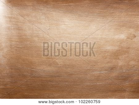Bronze watercolor texture paint stain abstract illustration background. Shining brush stroke for you