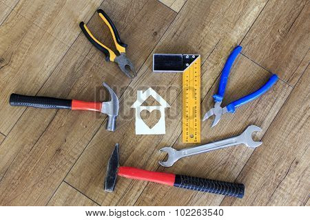 tools for building a house