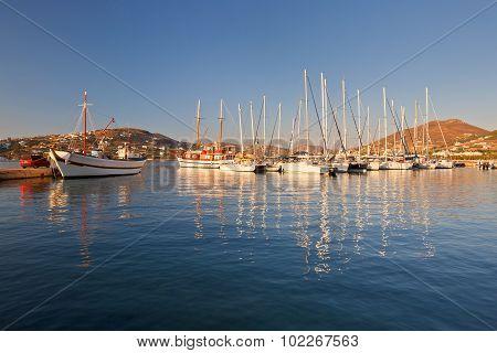 Parikia on Paros island.