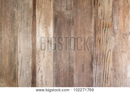 Old grunge brown wood  wall  texture background