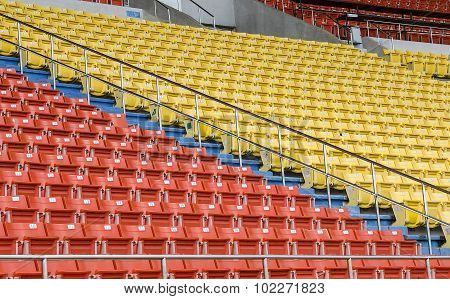 Empty Seat In The Stadiu