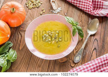 cream soup from pumpkin
