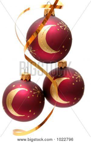 rot Weihnachten-Lampen