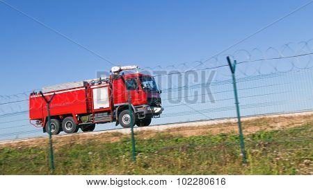 Red Fire Truck Rides