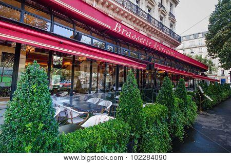 Brasserie la Lorraine in Paris