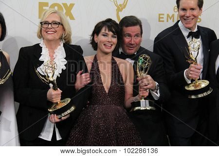 LOS ANGELES - SEP 20:  Lena Headey, Game of Thrones at the Primetime Emmy Awards Press Room at the Microsoft Theater on September 20, 2015 in Los Angeles, CA