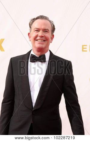 LOS ANGELES - SEP 20:  Timothy Hutton at the Primetime Emmy Awards Arrivals at the Microsoft Theater on September 20, 2015 in Los Angeles, CA