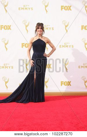 LOS ANGELES - SEP 20:  Felicity Huffman at the Primetime Emmy Awards Arrivals at the Microsoft Theater on September 20, 2015 in Los Angeles, CA