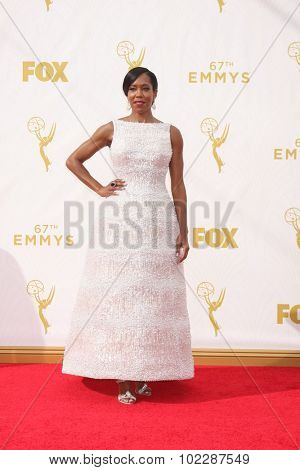 LOS ANGELES - SEP 20:  Regina King at the Primetime Emmy Awards Arrivals at the Microsoft Theater on September 20, 2015 in Los Angeles, CA