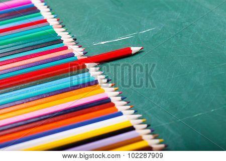 Pencils In Row
