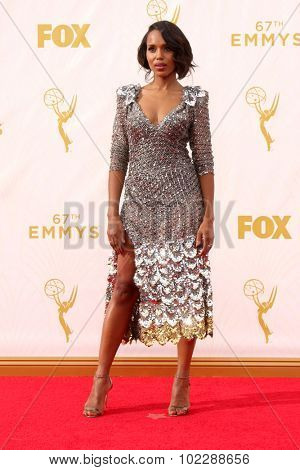 LOS ANGELES - SEP 20:  Kerry Washington at the Primetime Emmy Awards Arrivals at the Microsoft Theater on September 20, 2015 in Los Angeles, CA