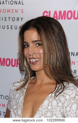LOS ANGELES - SEP 19:  Ana Ortiz at the 4th Annual Women Making History Brunch at the Skiirball Cultural Center on September 19, 2015 in Los Angeles, CA