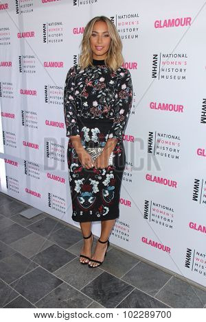 LOS ANGELES - SEP 19:  Leona Lewis at the 4th Annual Women Making History Brunch at the Skiirball Cultural Center on September 19, 2015 in Los Angeles, CA