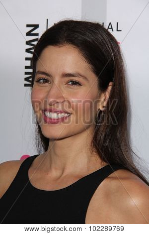 LOS ANGELES - SEP 19:  Mercedes Masohn at the 4th Annual Women Making History Brunch at the Skiirball Cultural Center on September 19, 2015 in Los Angeles, CA