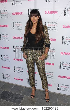 Moran AtiasKym JohnsonLOS ANGELES - SEP 19:  Jackie Cruz at the 4th Annual Women Making History Brunch at the Skiirball Cultural Center on September 19, 2015 in Los Angeles, CA