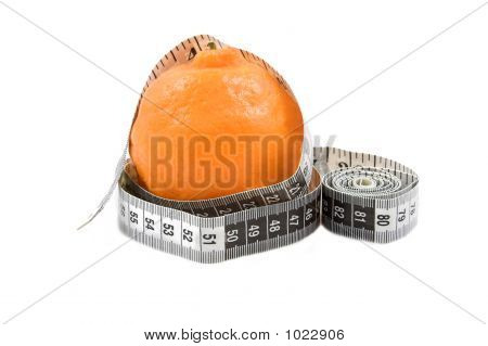 Orange With Tape