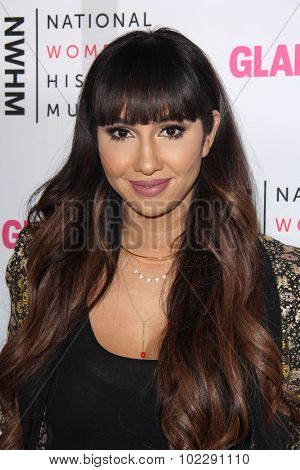 LOS ANGELES - SEP 19:  Jackie Cruz at the 4th Annual Women Making History Brunch at the Skiirball Cultural Center on September 19, 2015 in Los Angeles, CA
