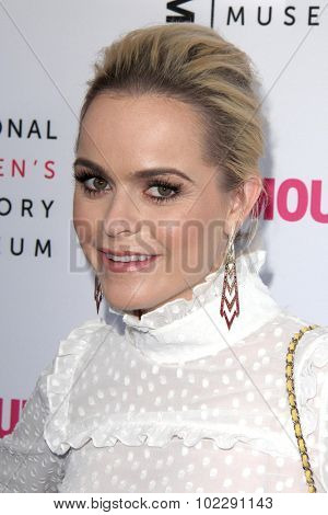 LOS ANGELES - SEP 19:  Taryn Manning at the 4th Annual Women Making History Brunch at the Skiirball Cultural Center on September 19, 2015 in Los Angeles, CA
