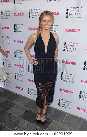 LOS ANGELES - SEP 19:  Brianna Brown at the 4th Annual Women Making History Brunch at the Skiirball Cultural Center on September 19, 2015 in Los Angeles, CA