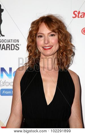 LOS ANGELES - SEP 19:  Alicia Witt at the 5th Annual American Humane Association Hero Dog Awards at the Beverly Hilton Hotel on September 19, 2015 in Beverly Hills, CA