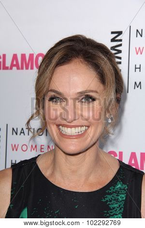 LOS ANGELES - SEP 19:  Amy Brenneman at the 4th Annual Women Making History Brunch at the Skiirball Cultural Center on September 19, 2015 in Los Angeles, CA