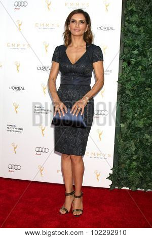 LOS ANGELES - SEP 19:  Leonor Varela at the 67th Emmy Awards Performers Nominee Reception at the Pacific Design Center on September 19, 2015 in West Hollywood, CA