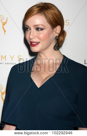 LOS ANGELES - SEP 19:  Christina Hendricks at the 67th Emmy Awards Performers Nominee Reception at the Pacific Design Center on September 19, 2015 in West Hollywood, CA