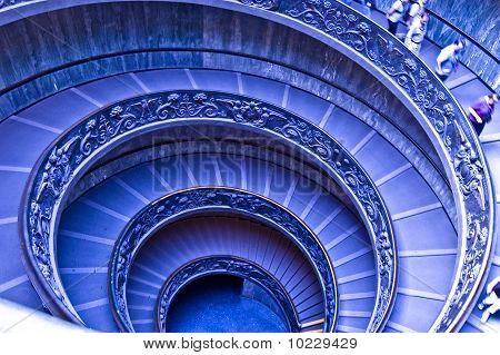 Vatican Round stairwell