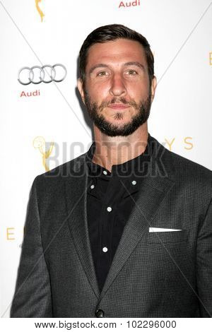 LOS ANGELES - SEP 19:  Pablo Schreiber at the 67th Emmy Awards Performers Nominee Reception at the Pacific Design Center on September 19, 2015 in West Hollywood, CA