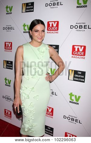 LOS ANGELES - SEP 18:  Lana Parrilla at the TV Industry Advocacy Awards Gala at the Sunset Tower Hotel on September 18, 2015 in West Hollywood, CA